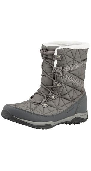 Columbia Loveland Boots Women Mid Omni-HEAT quarry / black